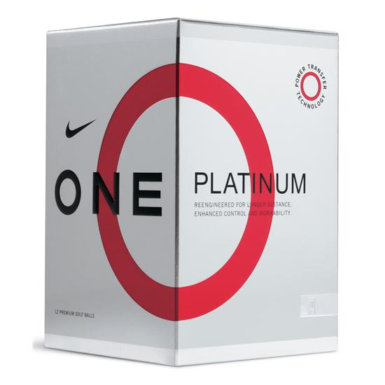 Nike One Platinum Golf Balls