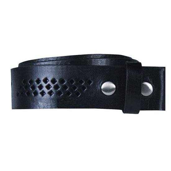 Adidas Full Grain Perforated Leather Belt Strap