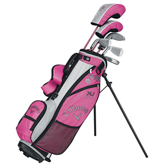 callaway golf xj series 8 piece junior set for girls. Black Bedroom Furniture Sets. Home Design Ideas
