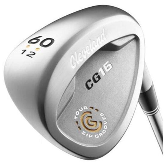 Cleveland Golf CG16 Satin Chrome Collegiate Shaft Wedge