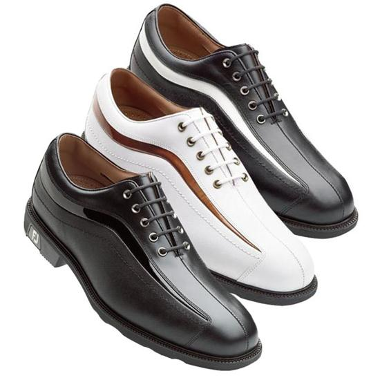 FootJoy Men's Icon Patent Wave Golf Shoe