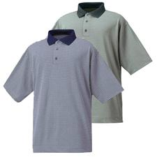 FootJoy Men's Stretch Lisle Diamond Dot Print Shirt