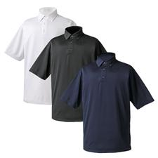 FootJoy Men's Textured Solid Houndstooth Jacquard Shirt