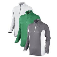 Nike Texture 1/2-Zip Long Sleeve Pullover for Women