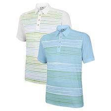 Adidas Men's ClimaCool Wood Grain Printed Polo