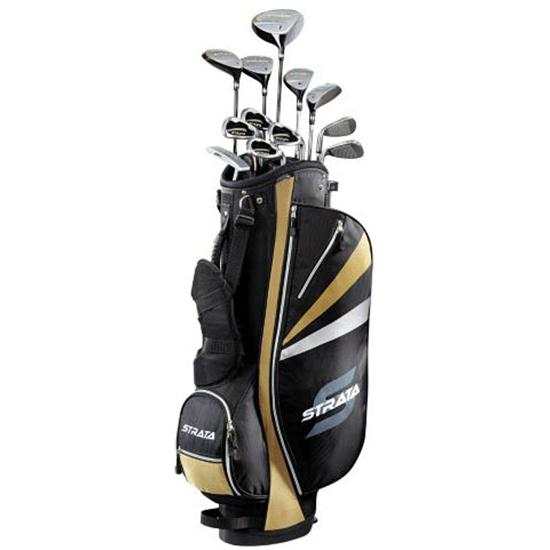 Bộ gậy chơi Golf Callaway Strata Plus Mens Complete Golf Set with Bag, 18 Piece