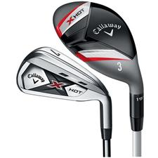 Callaway Golf X Hot Hybrid Iron Set