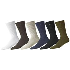 FootJoy Men's ComfortSof Cotton Crew Sock