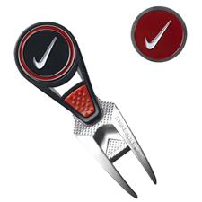 Nike CVX Ball Mark Repair Tool and Ball Markers