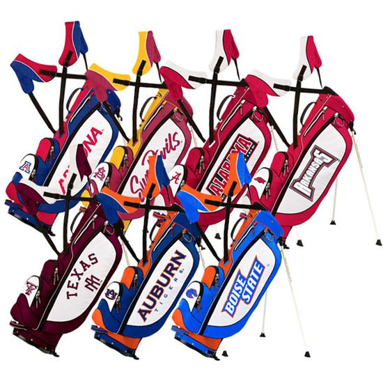 Sun Mountain Collegiate Licensed Three 5 Stand Bags