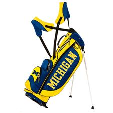 Sun Mountain Michigan Wolverines Collegiate Licensed Three 5 Stand Bags