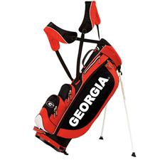 Sun Mountain Georgia Bulldogs Collegiate Licensed Three 5 Stand Bags