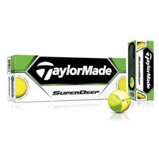 Taylor Made SuperDeep Yellow Golf Balls