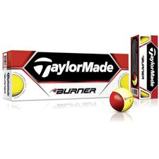 Taylor Made Yellow Burner Golf Balls
