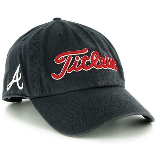 titleist s mlb golf hat golfballs