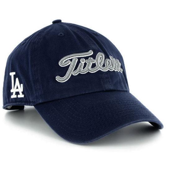 titleist s mlb golf hat milwaukee brewers golfballs