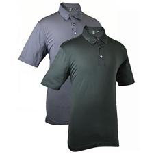 Ashworth Men's Performance Microstripe Polo