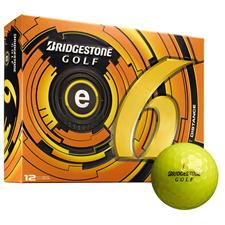Bridgestone e6 Yellow Logo Golf Balls