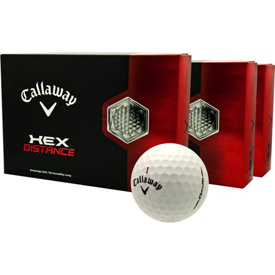 Callaway Golf HEX Distance Golf Balls - Buy 2dz Get 1dz Free