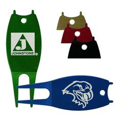 Logo Golf Custom Logo Engraved Aluminum Divot Tool