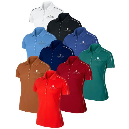 Home Golf Apparel Golf Shirts Nike Colorblock Polo for Women