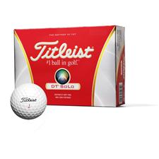 Titleist DT SoLo Golf Balls - 2012 Model
