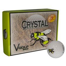 V Golf Crystal Golf Balls - Bee 2.0 Logo