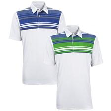 Ashworth Men's Performance Interlock Front Panel Engineer Polo