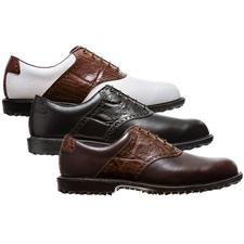 FootJoy Men's FJ Professional Spikeless Croc Print Golf Shoes
