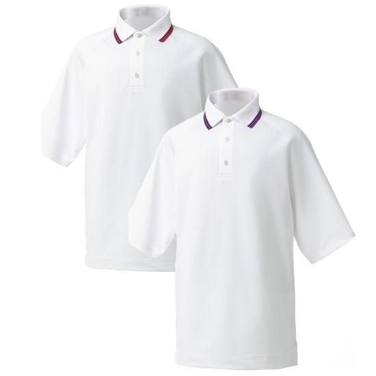 FootJoy Men's Stretch Pique Raglan Collar Tipping Shirt