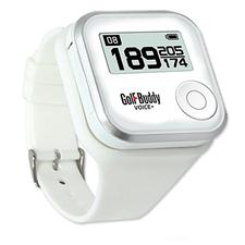 Golf Buddy VOICE+ White GPS Watch