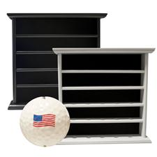 Golf Gifts & Gallery 25 Ball Display Cabinet w/ Free Ball