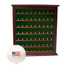 Golf Gifts & Gallery 63 Ball Display Cabinet