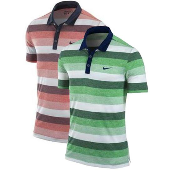 Nike Men's Dri-Fit Modern Stripe Polo