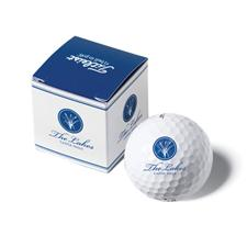 Pinnacle Custom Logo PackEdge Custom 1-Ball Box