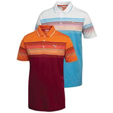 Puma Men's Colorblock Stripe Polo