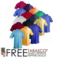 TABASCO Brand Custom Logo Custom Sport Performance Polo