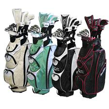 Tour Edge Moda Silk Complete Set for Women - 18 Piece