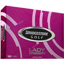 Bridgestone Lady Precept Pink Personalized Golf Balls