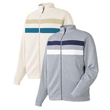 FootJoy Men's Flat Back Rib Pull Zip Jacket