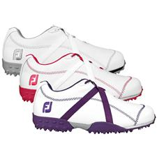 FootJoy M: Project Spikeless Leather Golf Shoe for Women