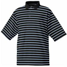 FootJoy Men's Stretch Lisle Pique Stripe Shirt