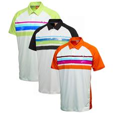 Puma Men's Watercolor Stripe Polo