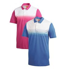 Puma Men's Yarn Dye Stripe Tech Cresting Polo
