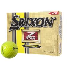 Srixon Custom Logo Z Star 3 Tour Yellow Golf Ball