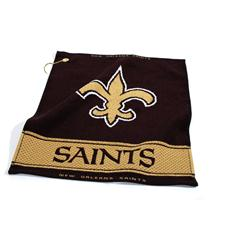 Team Golf New Orleans Saints NFL Woven Golf Towel