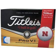 Titleist Nebraska Cornhuskers Pro V1 Collegiate Golf Balls
