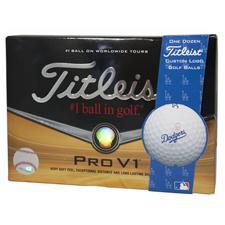 Titleist Los Angeles Dodgers Pro V1 MLB Golf Balls - Prior Generation
