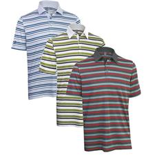 Ashworth Men's Performance Stripe Polo