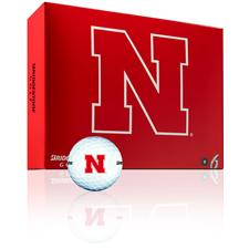 Bridgestone Nebraska Cornhuskers e6 Collegiate Golf Balls